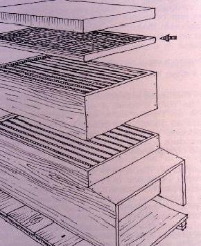 Размещение рамки с сеткой
